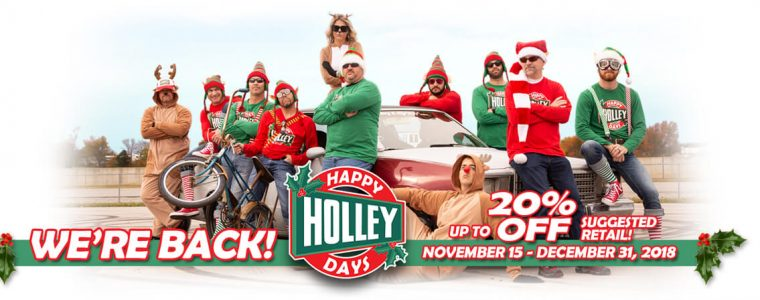 Happy Holley Days is back!!!